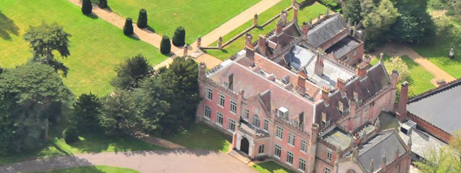 Ketteringham Hall Arial Photo